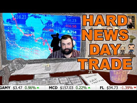 Investing for Gamers ~DAY TRADING ON HORRIBLE NEWS DAYS~Investor XP