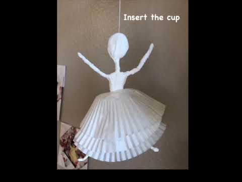 ballerinas with toilet papers & paper cups