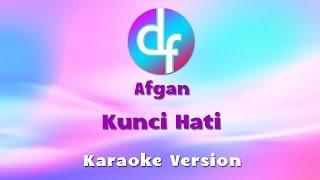 Afgan - Kunci Hati (Karaoke/Lirik/Instrumental)