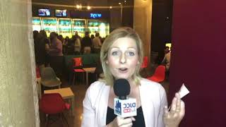 Sarah on the scene at February Happy Hour
