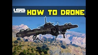 How To Build Compact Drones  Tips Tricks - Space Engineers
