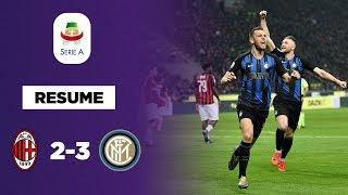 Résumé : Le derby et le podium pour l'Inter Milan !