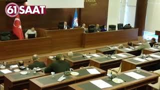 Trabzon büyükşehir belediye meclisinde gerginlik