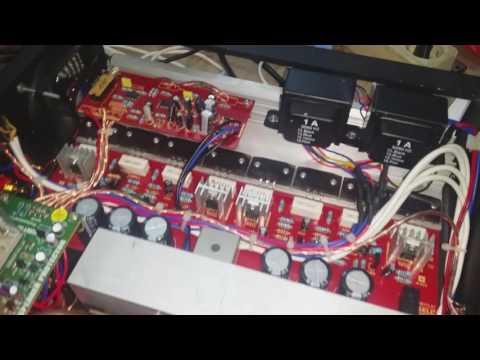 test power ampli 2.1 class d 1200watt