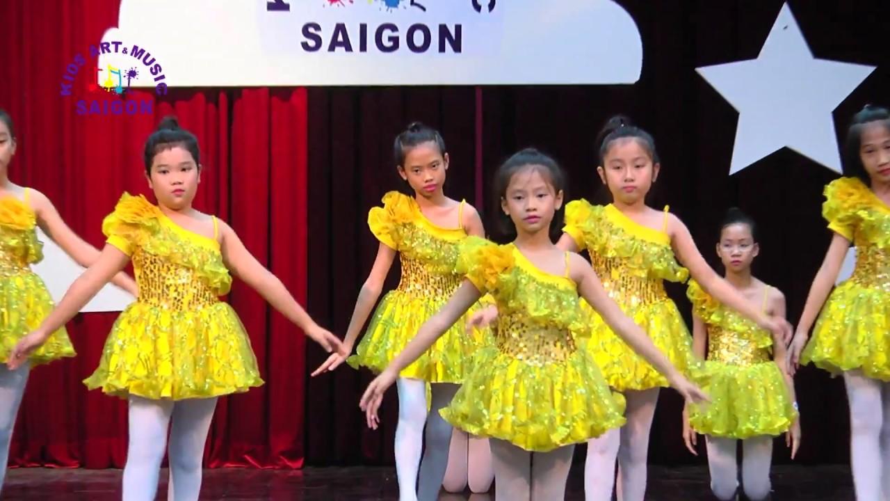 Lớp học múa ballet cho trẻ em tại Hải phòng và HCM – Bài Beauty of ballet