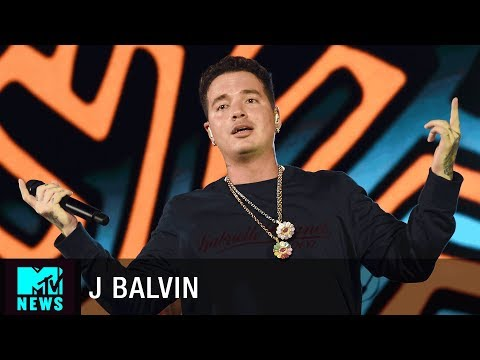 J Balvin on 'Mi Gente', 'Ginza' and Repping Latin Culture | MTV News