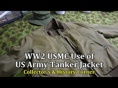 World War 2: USMC Use Of The US Army Tanker Jacket | Collector's & History Corner