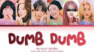 Red Velvet 레드벨벳 Dumb Dumb'' 6 Members ver