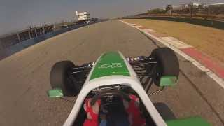 Reynard Race Car around Kyalami