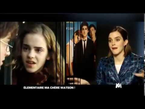 Interview- Emma Watson speaks french