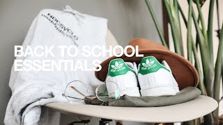 Top Ten Back To School Essentials / Inexpensive & Timeless!