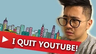 quitting youtube for hong kong