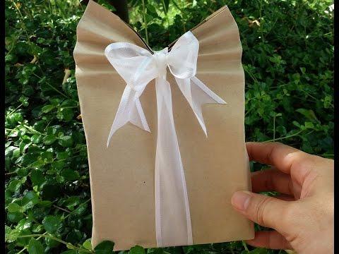 ห่อของขวัญ น่ารัก จากกระดาษ A4 พับง่ายมาก