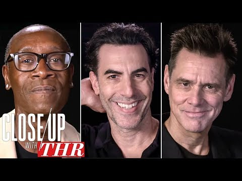 Comedy Actors Roundtable: Sacha Baron Cohen Jim Carrey Don Cheadle & More  Close Up