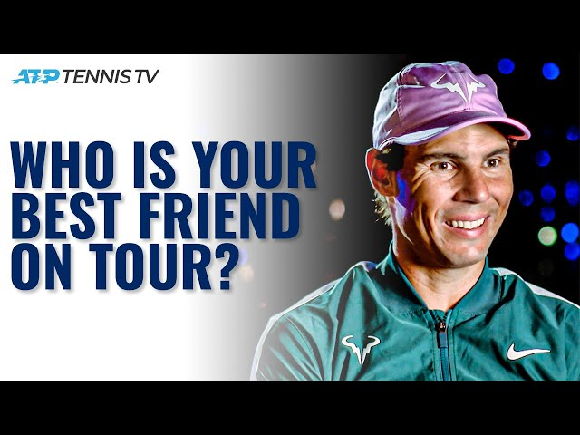 ATP Players Reveal Their Best Friends on Tour! 🤗