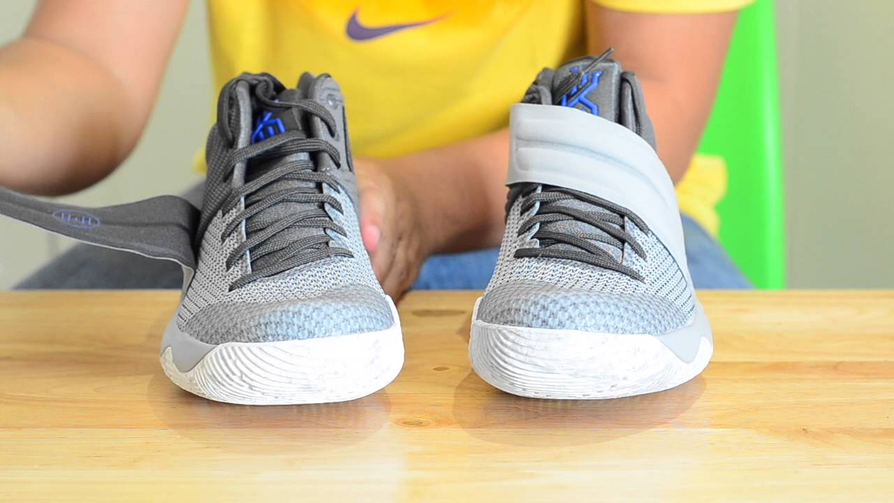 aa70299ba45 Day of Valor Unboxing 2/3 - Nike Kyrie 2 (Wolf Grey/Omega Blue/Cool Grey/Dark  Grey)