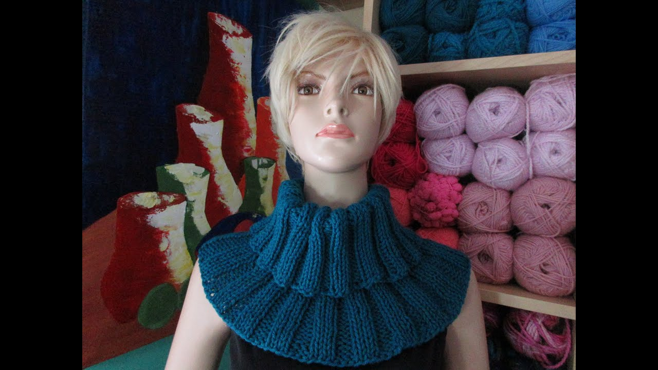 e13986504 How to knit scarf - collar - with Ruby Stedman
