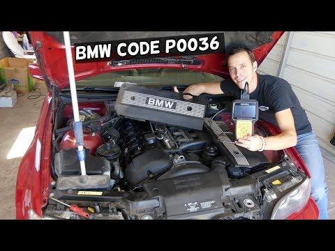 CODE P0036 HO2S HEATER CONTROL CIRCUIT BANK 1 SENSOR 2 BMW E46 E39 E60 E61 E53 X3 X5 Z3 Z4