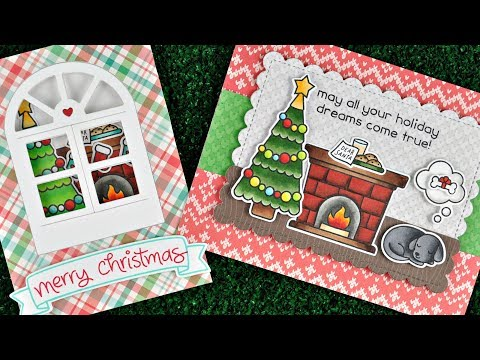 Intro to Christmas Dreams  2 cards from start to finish