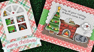 Intro to Christmas Dreams + 2 cards from start to finish