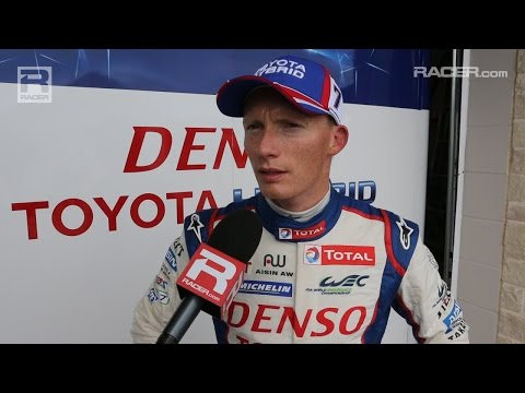 RACER: Mike Conway on Toyota WEC Debut