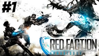 Red Faction Armageddon Gameplay Walkthrough Part 1 No Commentary  (PC HD)