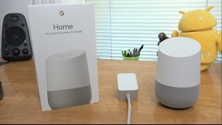 Google Home Unboxing and Setup!
