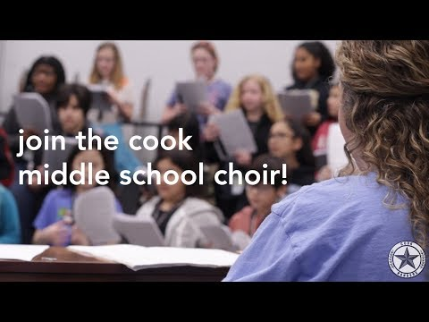 Cook Middle School Choir || Promo