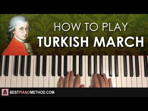 HOW TO PLAY - Mozart - Turkish March (Rondo Alla Turca) (Piano Tutorial Lesson)