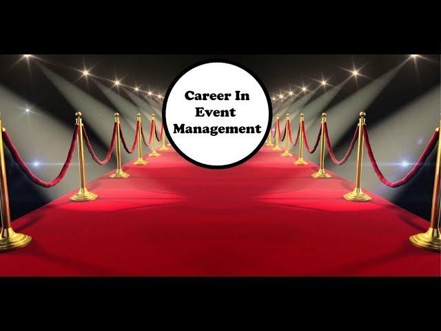 Career In Event Management