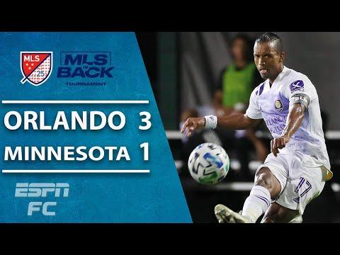 Orlando City 3-1 Minnesota United: Nani BRILLIANT as Lions reach MLS is Back final | MLS Highlights