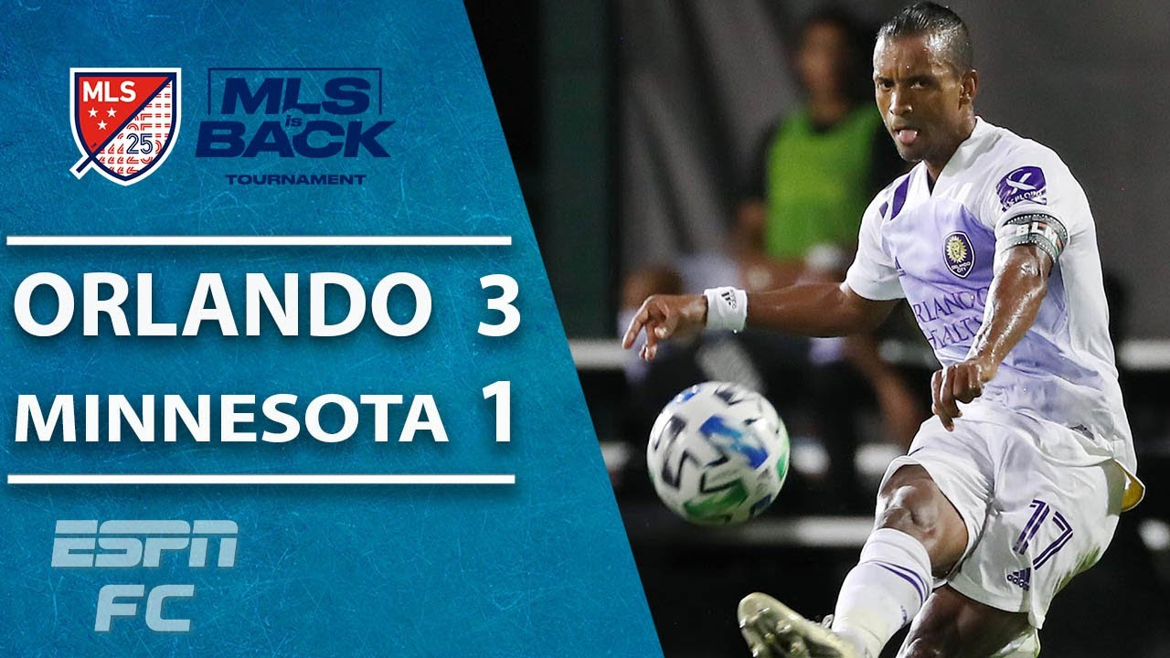 Orlando City 3-1 Minnesota United: Nani BRILLIANT as Lions reach MLS is Back final | MLS Highlights