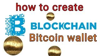 Blockchain - How Can Create Blockchain Bitcoin wallet? Hindi / Urdu
