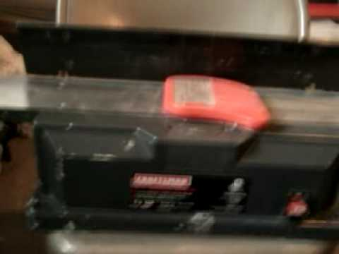 Craftsman 6inch Professional Jointer Overview Doovi