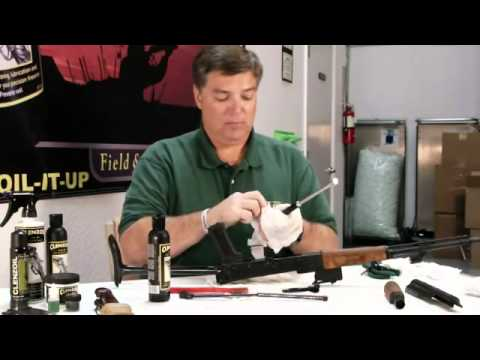 Clenzoil Europe   Gun Cleaning Tutorial Part 1 of 2