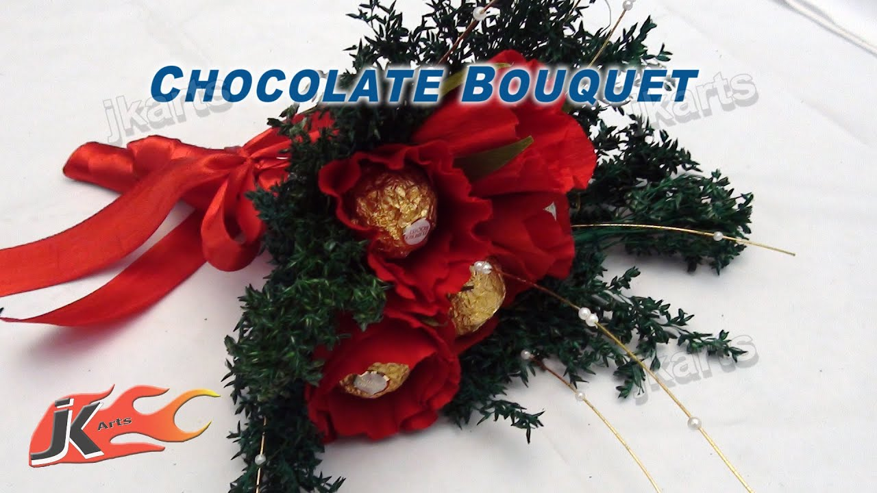 Chocolate Bouquets, Fresh Flower Bouquet Ideas | JK Craft Ideas 008 ...