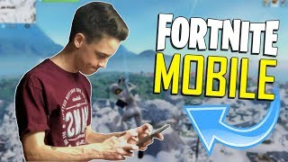 FAST MOBILE BUILDER on iOS / 790+ Wins / Fortnite Mobile + Tips & Tricks! thumbnail