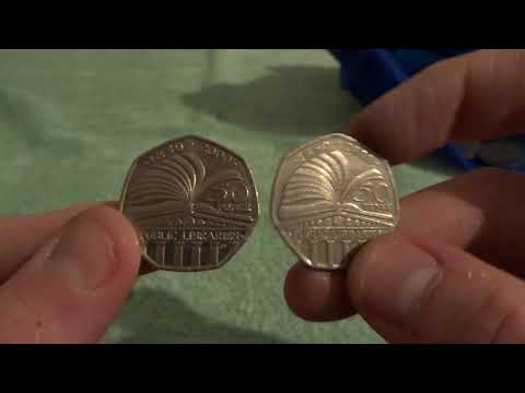 50p Coin Hunt: Totally Epic Finds 😁😁 - £100 In 50p Coins - UK Coin Hunter