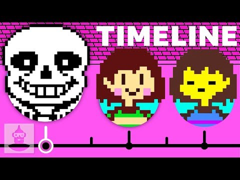 The Complete Undertale Timeline - Pacifist   The Leaderboard