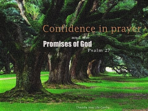 Confidence in prayer and the promises of God