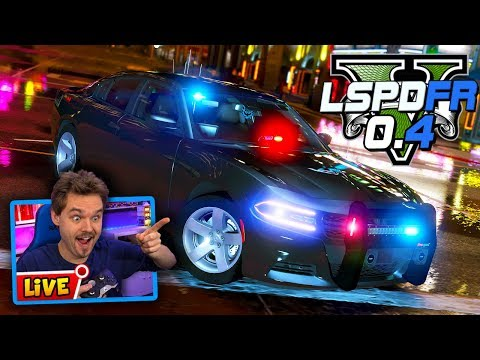 Download Gta 5 Lspdfr Rainy Night Live Gta 5 Lspdfr Police