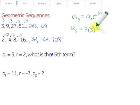 Geometric Sequences - Youtube