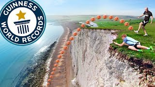 WORLDS HIGHEST CROSSBAR CHALLENGE *NEW RECORD*