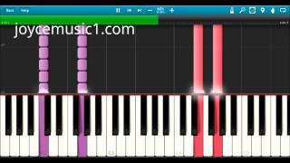 Let It go - Easy Piano Tutorial (60% speed)