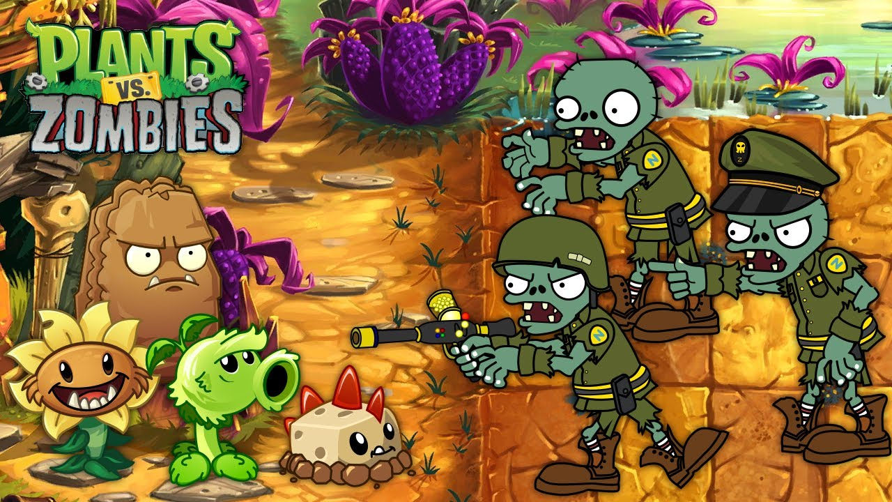 New Plants Vs Zombies Best PVZ Animation - Episode 7 - Primal Cartoon Anime Video PVZ