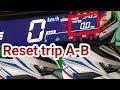 Cara reset trip A-B all new Honda Vario 2018