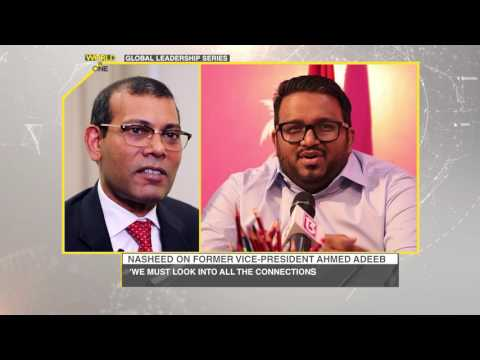 World Is One Global Leadership Series: Mohamed Nasheed