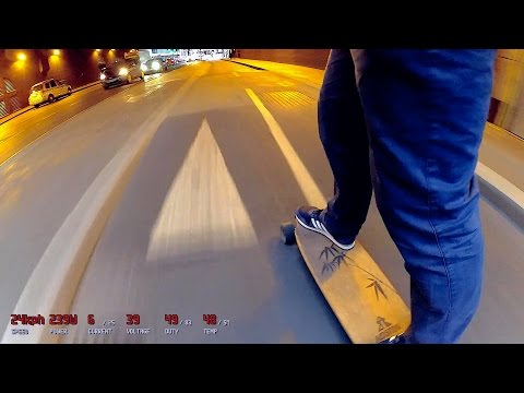 Electric Skateboard Commute London n.1 part 2/2 - Tower Hill to Westminster