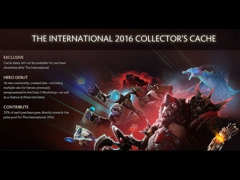 Very Rare Pudge Set - The International 2016 Collector's Cache