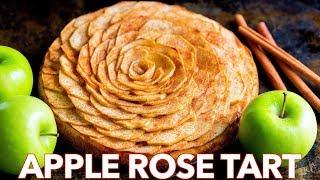 Easy Apple Tart Recipe (Baked Apple Rose Tart)